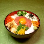 パワー丼セット945円