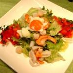 海鮮サラダ 840円