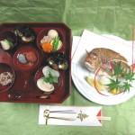 お食い初め膳(小鯛付き)¥3,150