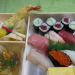握り寿司弁当  並寿司(一人前)・揚げ物・煮物・・・・・1,680円